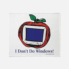 Apple Computer Throw Blanket