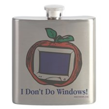 Apple Computer Flask