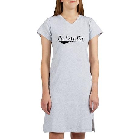La Estrella, Aged, Women's Nightshirt