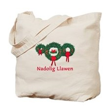 Wales Christmas 2 Tote Bag