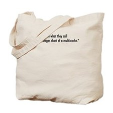 Crazy For Geocaching Tote Bag