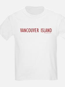 Vancouver Island - Kids T-Shirt