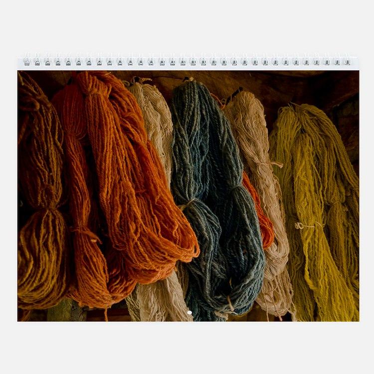 Organic Wool Wall Calendar