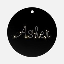 Asher Spark Ornament (Round)