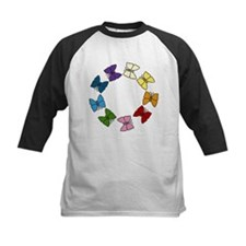 Colorful Butterfly Circle Tee