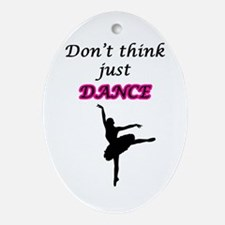 Just Dance Ornament (Oval)