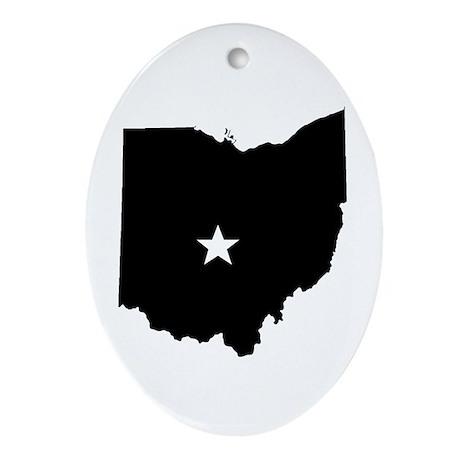Capitol City Oval Ornament