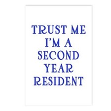 Trust Me I'm a Second Yr Resident Postcards (Packa
