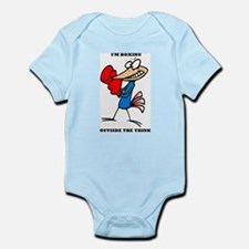 Outside The Think Infant Bodysuit
