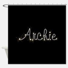 Archie Spark Shower Curtain