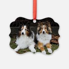 Barn Dogs Ornament