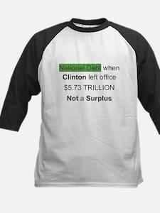 national debt when clinton left office Tee