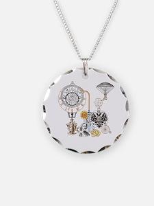 Steampunk Russo Victorian Ti Necklace