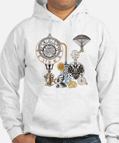 Steampunk Russo Victorian Time C Hoodie