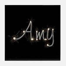 Amy Spark Tile Coaster