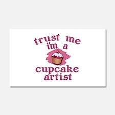 Trust Me I'm a Cupcake Artist Car Magnet 20 x 12