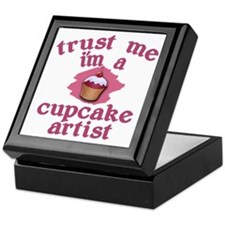 Trust Me I'm a Cupcake Artist Keepsake Box