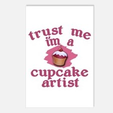 Trust Me I'm a Cupcake Artist Postcards (Package o