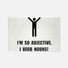 Adjective Verb Nouns Magnets