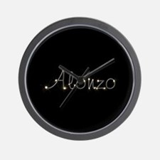 Alonzo Spark Wall Clock