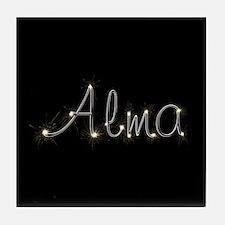 Alma Spark Tile Coaster