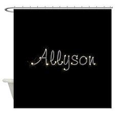 Allyson Spark Shower Curtain