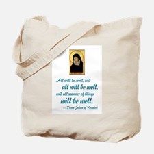 All Will Be Well Tote Bag