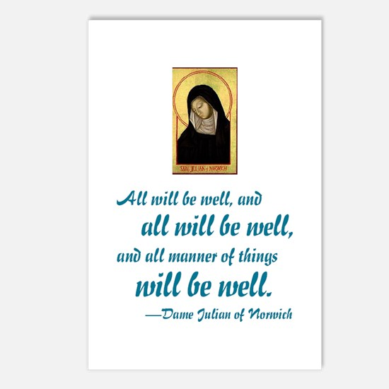 All Will Be Well Postcards (Package of 8)