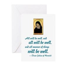 All Will Be Well Greeting Cards (Pk of 10)
