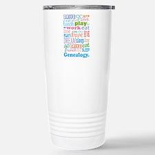 Genealogy Travel Mug