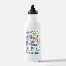 Genealogy Water Bottle