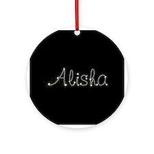 Alisha Spark Ornament (Round)