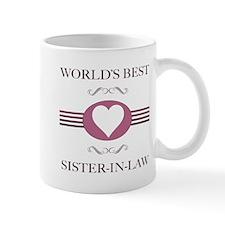 Sister-In-Law w/ Heart Mug