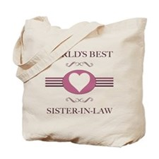 Sister-In-Law w/ Heart Tote Bag