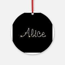 Alice Spark Ornament (Round)
