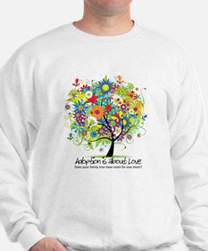2-FAMILY TREE ONE MORE.png Sweatshirt