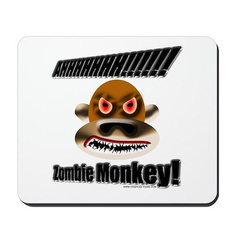 AHHHHHHHH! Monkey Zombie! Mousepad