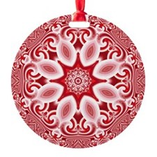 Kaleidoscope Parfait Round Ornament