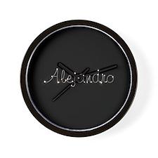 Alejandro Spark Wall Clock