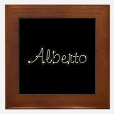 Alberto Spark Framed Tile