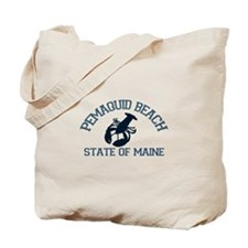 Pemaquid Beach ME - Lobster Design. Tote Bag