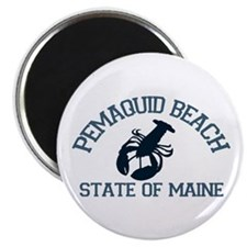 Pemaquid Beach ME - Lobster Design. Magnet