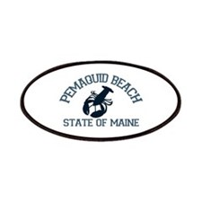 Pemaquid Beach ME - Lobster Design. Patches