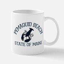 Pemaquid Beach ME - Lobster Design. Mug