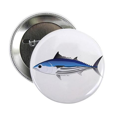 "Skipjack Tuna fish 2.25"" Button (10 pack)"