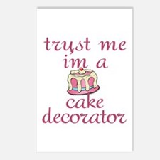 Trust Me I'm a Cake Decorator Postcards (Package o