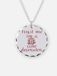 Trust Me I'm a Cake Decorator Necklace