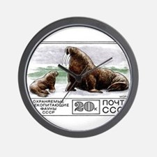 1977 Russia Walrus With Calf Postage Stamp Wall Cl