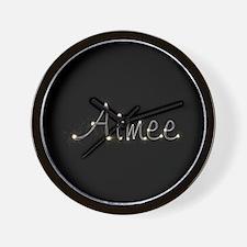 Aimee Spark Wall Clock