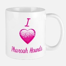 I Love/Heart Pharaoh Hounds Mug